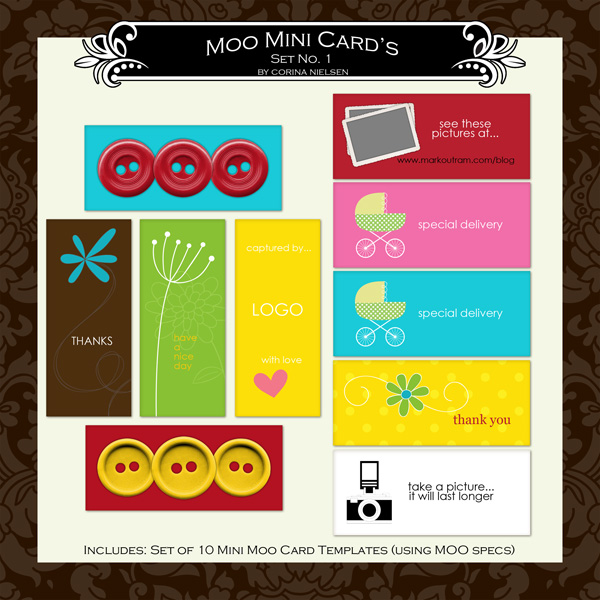 MOO Mini Card Set 1