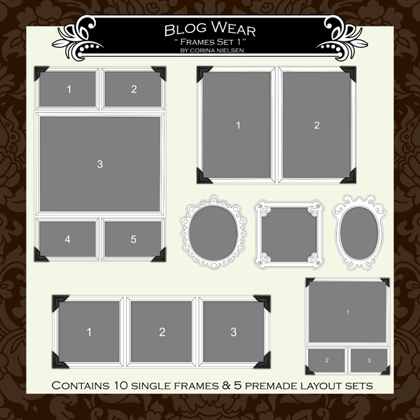 "Blog Wear- ""Frame Set No.1"""