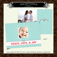 Holiday Cards- Set  1 (Card 1)