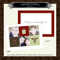 Holiday Cards- Set  1 (Card 2)