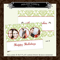 Holiday Cards- Set  1 (Card 3)