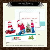 Holiday Cards- Set  1 (Card 4)