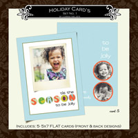 Holiday Cards- Set  1 (Card 5)