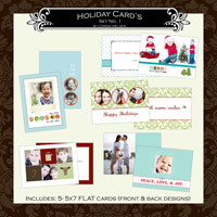 Holiday Cards- Set  1