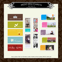 MOO Mini Card's Set  3