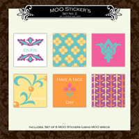 MOO Sticker Set 2