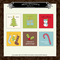 MOO Sticker Set  3
