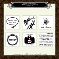 MOO Mini Sticker Set  4