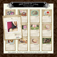 365 Days of Love 5 x 7 Album