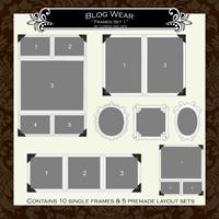 """Blog Wear- """"Frame Set No.1"""""""