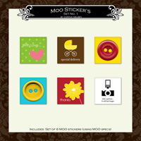 MOO Sticker Set 1